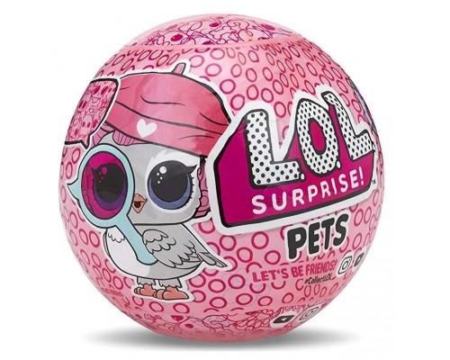 Куклы ЛОЛ Сюрприз Питомцы 4 серия - LOL Surprise Pets - кукла-сюрприз (в шарике)