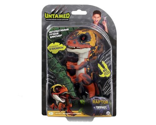 Интерактивные игрушки - Динозавр Блейз - Fingerlings, зеленый с оранжевым