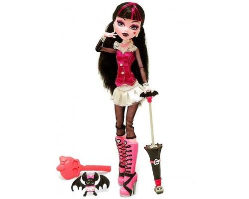 Монстр Хай Школа Монстров - Monster High - Кукла Monster High Дракулаура с питомцем