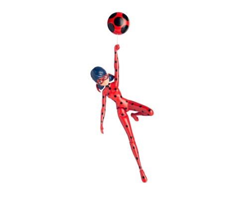 Леди Баг и Супер Кот - LadyBug Miraculous - Леди Баг с присоской - 19 сантиметров