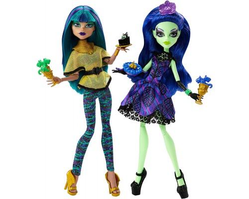Монстр Хай Школа Монстров - Monster High - Нефера и Аманита - Набор из двух кукол