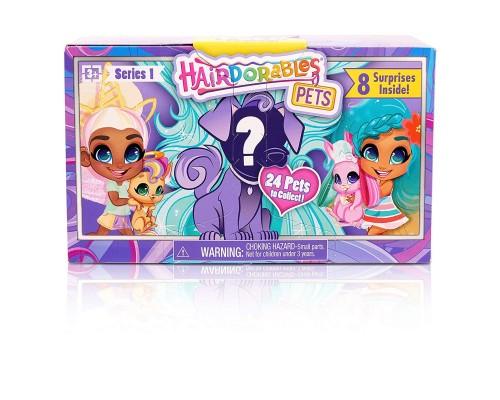 Hairdorables - Коллекционные куклы - сюрприз - Hairdorables Pets - Питомец Сюрприз с причёской